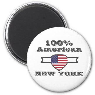 Imã Americano de 100%, New York