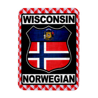 Ímã americano norueguês de Wisconsin