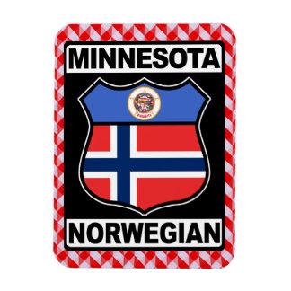 Ímã americano norueguês do Minnesotan