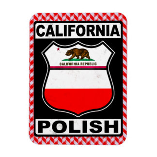 Ímã americano polonês de Califórnia