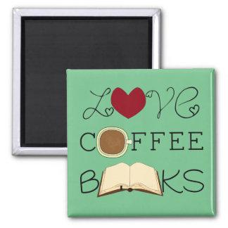 Imã Amor, café, livros - escolha a cor