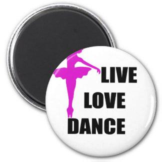 Imã amor da dança vivo