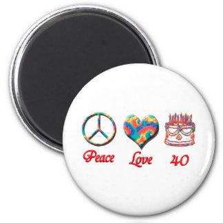 Imã Amor da paz e 40 anos velho