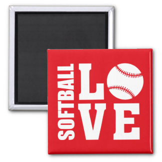 Imã Amor do softball