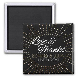 Imã Amor e obrigado Wedding do favor do roteiro | dos