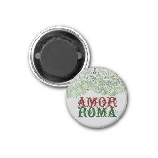 Imã Amor Roma com laço verde