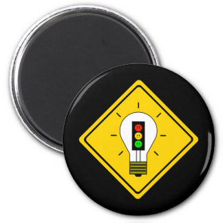 Imã Ampola temperamental do sinal de trânsito adiante
