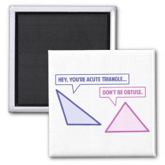 Imã Ângulo obtuso de triângulo agudo
