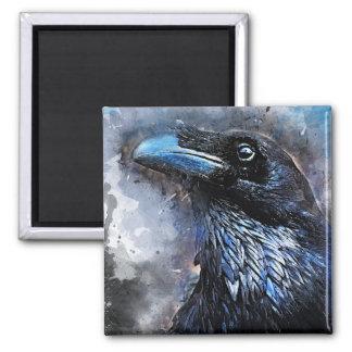 Imã #animals do #bird do #crow da arte do corvo