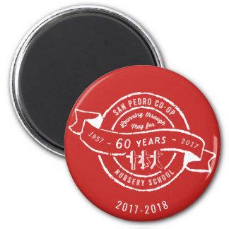 Imã Aniversário do infantário 60th da capoeira de San