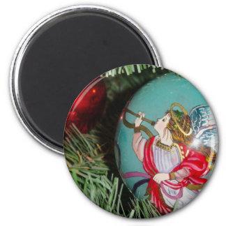Imã Anjo do Natal - arte do Natal - decorações do anjo