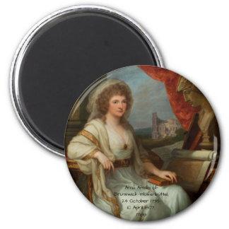 Imã Anna Amalia de Brunsvique-Wolfenbuttel 1788
