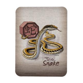 Ímã Ano chinês do zodíaco da arte do cobra