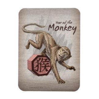 Ímã Ano da arte chinesa do zodíaco do macaco