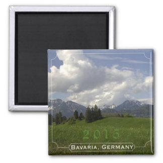 Imã Ano da mudança do ímã da lembrança de Baviera