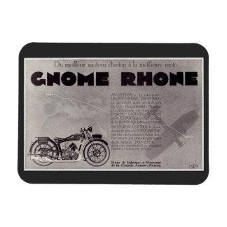 Ímã Anúncio da motocicleta de 1929 franceses, Paris