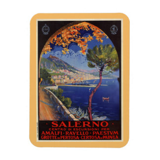 Ímã Anúncio do viagem do verão do vintage de Salerno