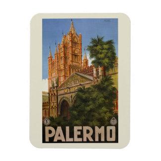 Ímã anúncio italiano do viagem de Palermo Sicília do