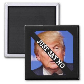 Imã Apenas diga não a Donald Trump