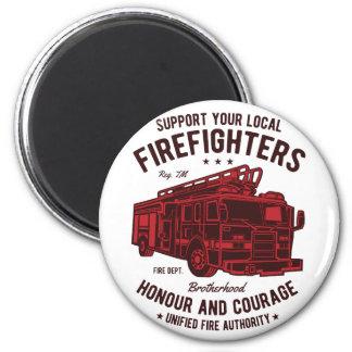 Imã Apoie seus bombeiros locais
