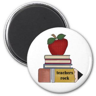Imã Apple, livros, rocha dos professores do lápis