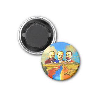 Imã Arménio ARF grande, ímã redondo de 3 polegadas
