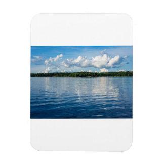 Ímã Arquipélago na costa de mar Báltico na suecia