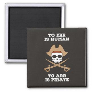Imã Arr gosta de um ímã do pirata