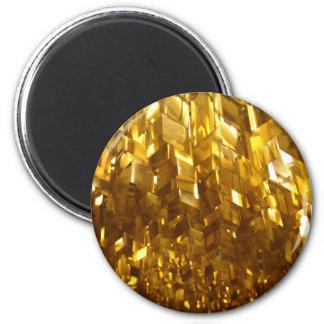 Imã Arte abstracta do teto do ouro