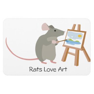 Ímã Arte do amor dos ratos