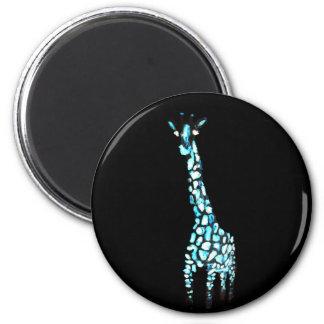 Imã Arte do girafa do abstrato do animal selvagem do