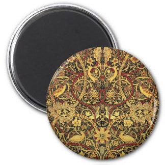 Imã Arte floral da tapeçaria de William Morris