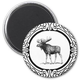 Imã arte grande dos alces do touro