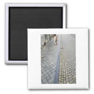 Imã Arte holandesa da rua do tijolo da fotografia