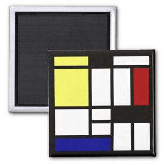 Imã Arte quadrada moderna