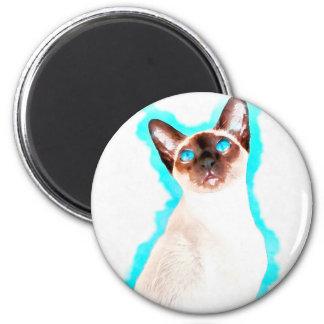 Imã Arte Siamese de CatWatercolor