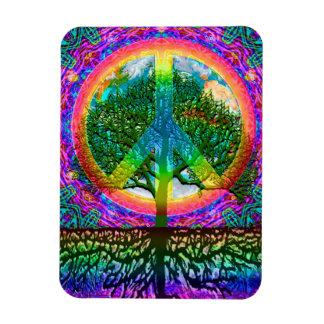 Ímã Árvore da paz da vida