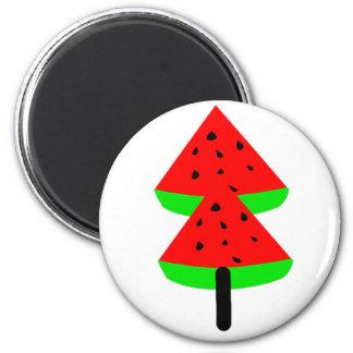 Imã árvore de fruta da melancia