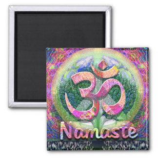 Imã Árvore de Namaste do símbolo de paz da vida