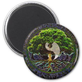 Imã Árvore de Yin Yang de vida