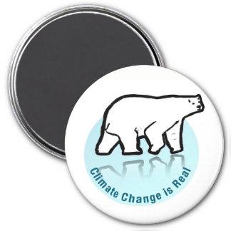Imã As alterações climáticas são reais