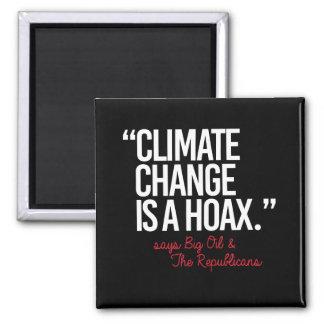 Imã As alterações climáticas são um embuste dizem o