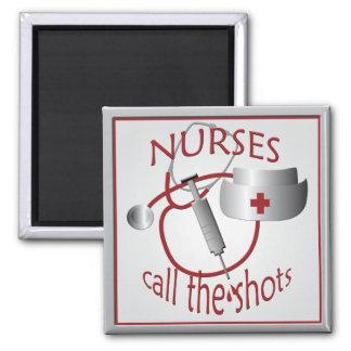 Imã As enfermeiras chamam o ímã da enfermeira dos