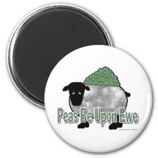 Imã As ervilhas sejam em cima da ovelha
