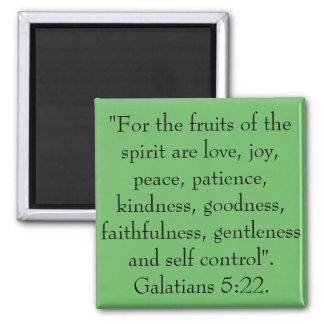 Imã As frutas do espírito são amor, alegria, paz