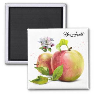 Imã As maçãs, florescem e espirram