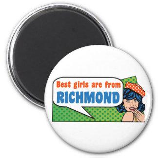 Imã As melhores meninas são de Richmond