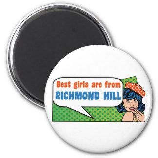 Imã As melhores meninas são do monte de Richmond