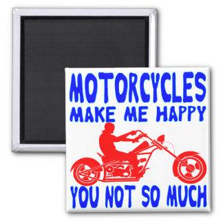 Imã As motocicletas fazem-no me feliz não tanto