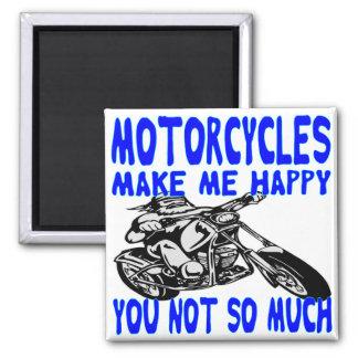 Imã As motocicletas fazem-no me feliz não tanto 2
